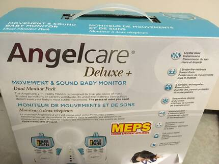 Angelcare Deluxe - Movement & Sound Baby Monitor - As New