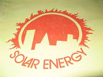 Solar Energy Vintage 1976 Tee Shirt  Super Soft Sun City Tee Shirt