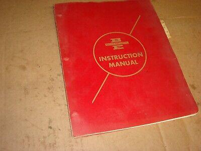 Oem Bucyrus-erie 88-b Crawler Excavator Crane Instruction Service Manual