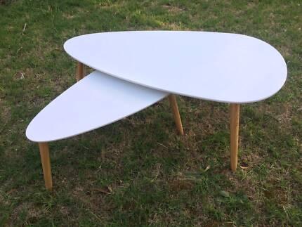 Scandi coffee table set