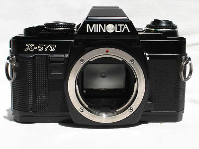 Minolta X-570 Body Only Excellent Conditions - Preferred by Pro