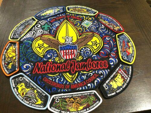 BSA CROSSROADS OF AMERICA COUNCIL 2017 NATIONAL JAMBOREE JSP SET