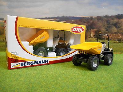 JOAL DIECAST BERGMANN 2060 4WD DUMPER 1/35 REF 217 *BOXED NEW*