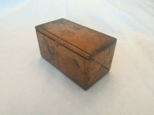 Antique Singer Puzzle Box Patented 1889 February 19 w/ Attachments
