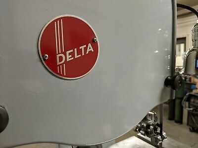 NAME PLATES FOR VINTAGE DELTA EQ'MT - SAME DECALS, BUT NOW ON LASER CUT PLATES Laser Cut Decals
