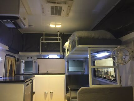 2017 Off road custom caravan as new XT12 solar shower