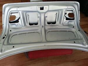 2002 Toyota Corolla trunk lid