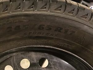 MICHELIN SNOW TIRES AND HONDA TRUCK WHEELS