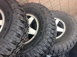 Truck tires almost new