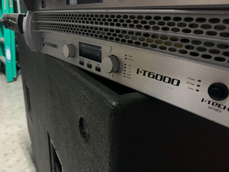 Crown I-Tech 6000 amplifier