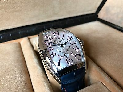 Franck Muller CINTREE CURVEX 8880 SC DT Excellent Cond Box & Papers