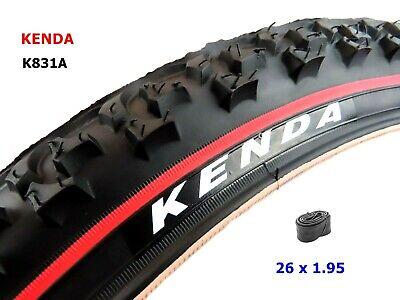 CST T1290 Eiger Redline 26 X 2.35 Bike Tyres with Schrader Inner Tubes Pair