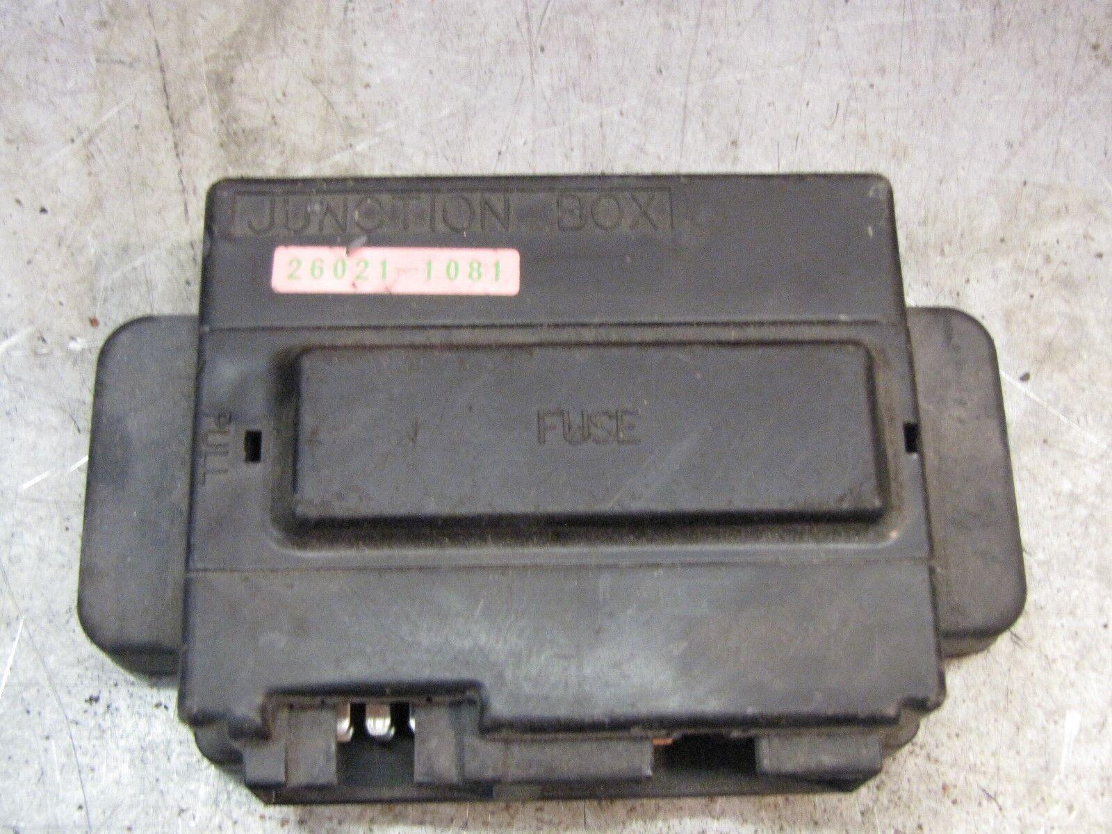KAWASAKI ZZR600 ZZR600-E ZEKERINGSDOOS FUSE BOX 26021-1070 26021-1081