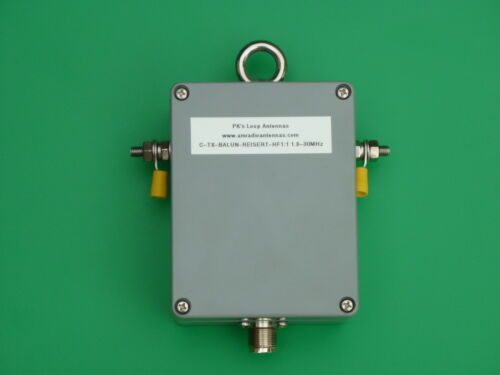 High Power, High Quality 1:1 Balun for 160m - 10m Bands (1.8 - 30MHz)