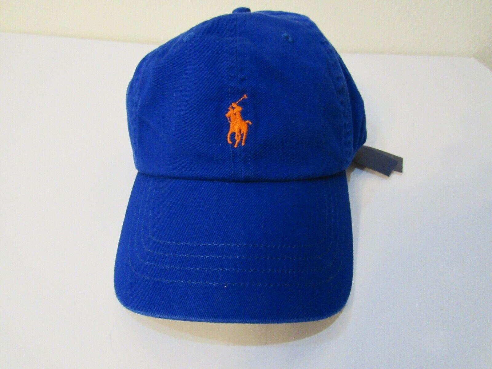 Polo Ralph Lauren Mens Pony Baseball Cap Hat Adjustable Nwt