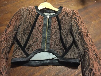 7eb1b287c7a7 Cue military style bolero jacket