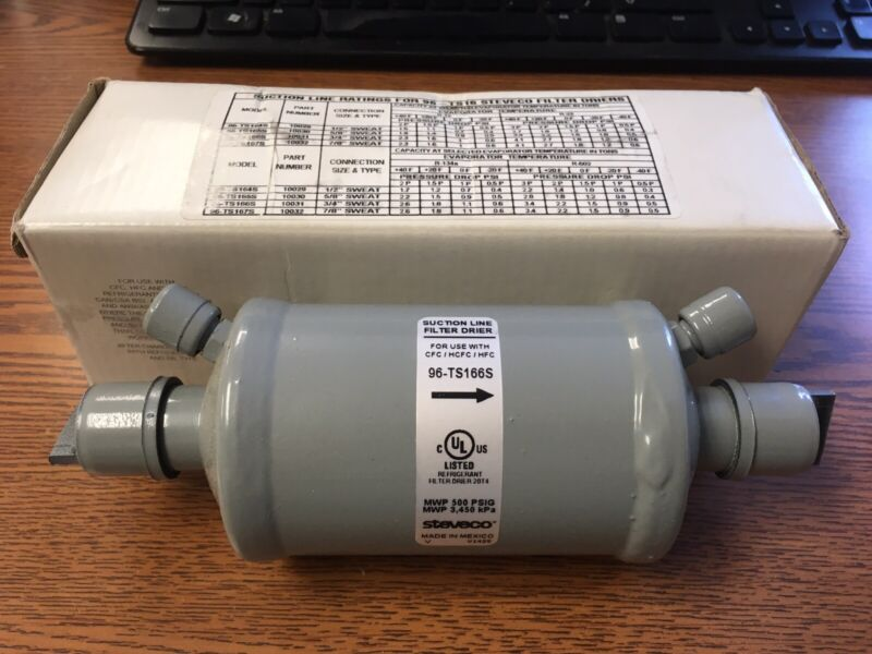 "STEVECO 96-TS166S Suction Line Drier 16 CI 3/4"" NEW R-410A compatible"