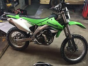 STREET LEGAL RARE 2008 KLX450R 800KM FROM NEW 2 SETS OF TIRES!