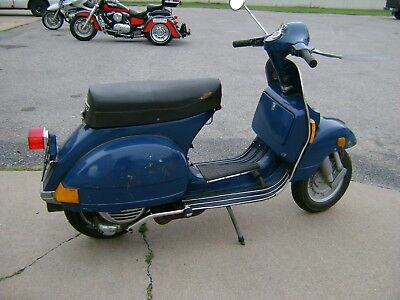 1978 Vespa P200E Scooter-Rebuilt Engine--No Reserve!
