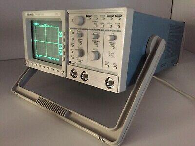 Tektronix Tds 320 Two Channel Oscilloscope 100 Mhz 500 Mss
