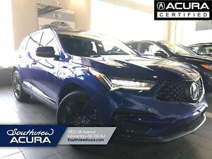 2019 Acura RDX A-Spec   AWD   Backup Cam   Navigation