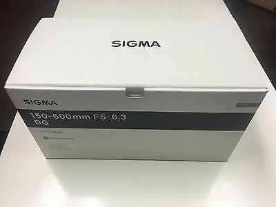 Sigma 150-600mm f/5-6.3 DG OS HSM Contemporary Lens for Nikon F #745-306  *NEW*