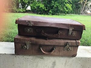Vintage Suitcases Southside Gympie Area Preview