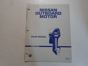 Nissan Outboard Motor Sales Manual Ns Series Vol 1 Boat