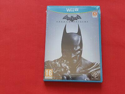 Jeu Batman Arkham Origins Wii U NEUF segunda mano  Embacar hacia Spain