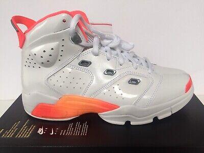 Cheap Kids Jordans (NIKE JORDAN  6-17-23 GS (WHITE | FLASH | CRIMSON) [ CI4342 100] YOUTH SZ)