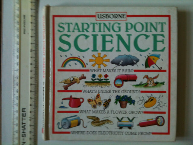 STARTING POINT SCIENCE BY USBORNE Four books in ONE hardback