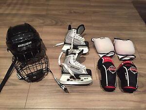 Skating starter set--EUC