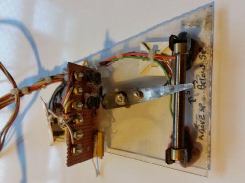 Laboratory Slide Rheostat Variable Resistor school project test stand used