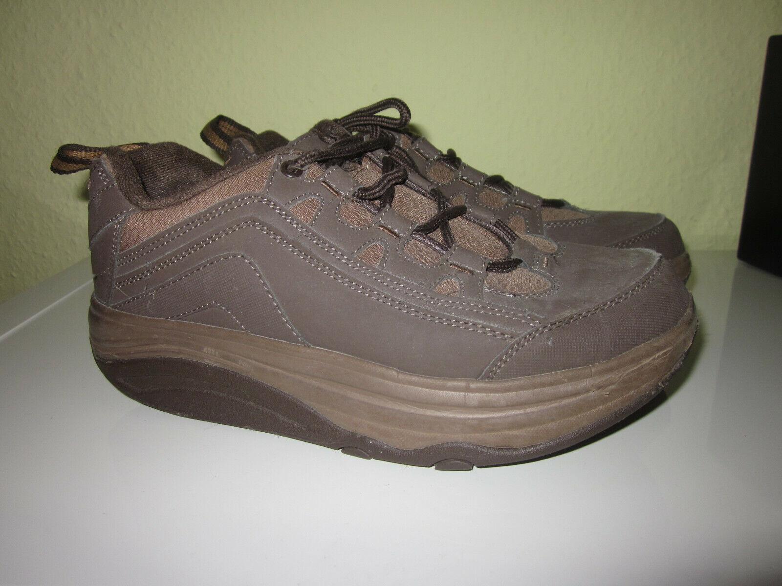 Fitness Schuhe Outdoor mit abgerundeter Sohle 38 braun ungetragen  Walkmaxx