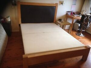 SOLID TIMBER KING SIZE BED FRAME Maroubra Eastern Suburbs Preview