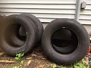 4 basically brand new tires
