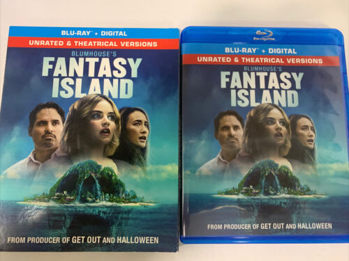 Blumhouse s Fantasy Island- unrated theatrical Blu-ray W/slipcover No Digital - $11.99