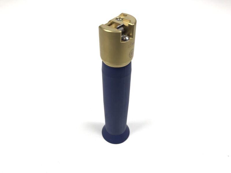 GE VITALVIEW II FIBER OPTIC LARYNGOSCOPE HANDLE BLUE/GOLD REF 4556