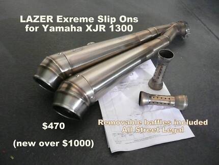 Lazer Extreme Exhaust for Yamaha XJR Carine Stirling Area Preview