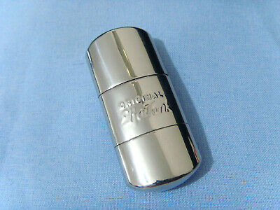 ORIGINAL ELFA TANK Silver Chrome Petrol Lighter Vintage NOS GERMANY Feuerzeug