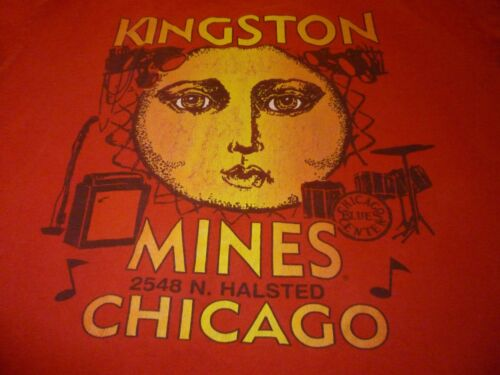 Kingston Mines Shirt ( Used Size L ) Good Condition!!!