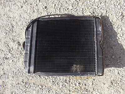 Ford 960 Tractor Original Working Engine Motor Radiator Assembly W Cap