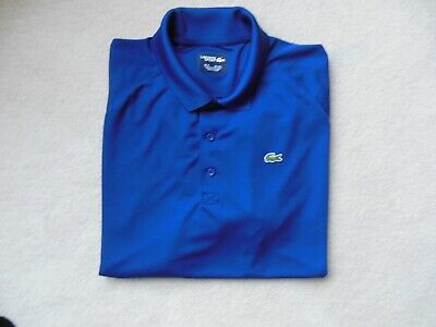 LACOSTE SPORT Mens Short Sleeve Polo Shirt Sz 4XL 9 MUST SEE!! A+++++WOW!