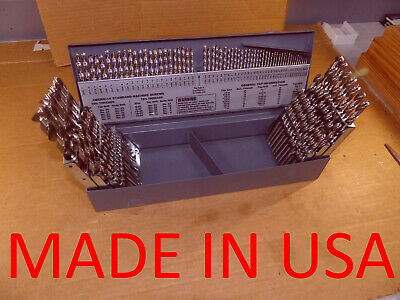 Morse Cutting Tools Drill Set Hss Bright 115 Pc 116-12 A-z 1-60 Usa