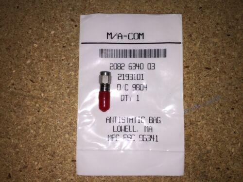 2082-6340-03, M/A-COM, SMA Fixed Coaxial Attenuator Ultra Mini 3.0 ±0.30 (dB)