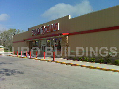Durobeam Steel 50x152x13 Metal Buildings Commercial Retail Shop Structure Direct