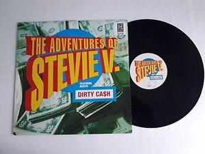 LP-3-gt-Disco-Vinile-12-039-039-The-adventures-of-STEVIE-V-Dirty-Ca-h-AVEX-T57