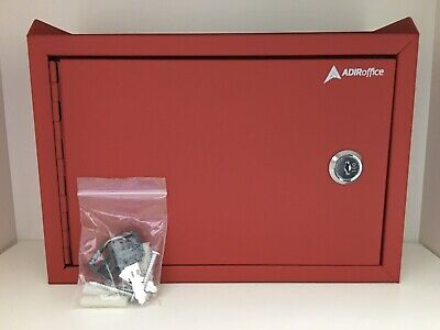 Adiroffice Mail Cash Collection Box 631-02 Red