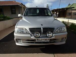 2006 Ssangyong Musso Ute  2 Wheel Drive Auto Exl Condition Whyalla Whyalla Area Preview