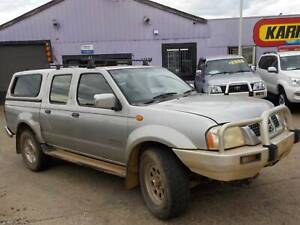 WRECKING 2004 NISSAN NAVARA D22 ZD30 DIESEL 4X4 MANUAL DUAL CAB North St Marys Penrith Area Preview